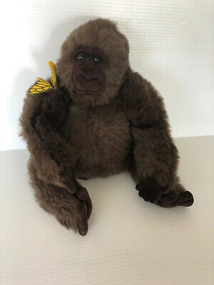 """16"""" Amy Gorilla Plush Toy With Butterfly From Congo By Dakin 1995 Congo Movie"""