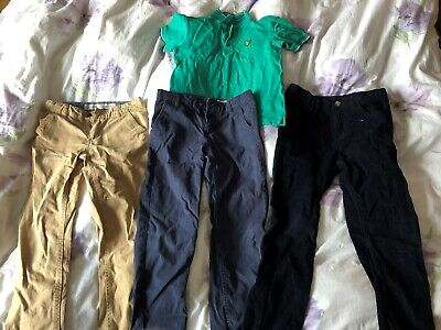 boys clothes bundle age 7-8 years, Lyle & Scott, Primark trousers, cords, chinos