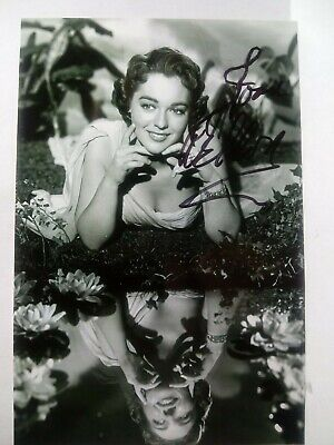 JOAN WELDON Authentic Hand Signed Autograph 4X6 Photo -1950'S BEAUTIFUL ACTRESS