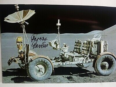 FERENC PAVLICS Authentic Han Signed Autograph 4X6 Photo NASA APOLLO LUNAR ROVER