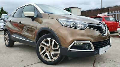 2016 66 Renault Captur 0.9 Iconic Nav Tce 5D 90 Bhp Brown Climate+Parking+Media+