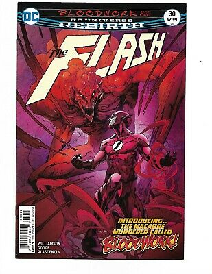 THE FLASH #30 First App 1st Appearance of Bloodwork DC 1st Print VF