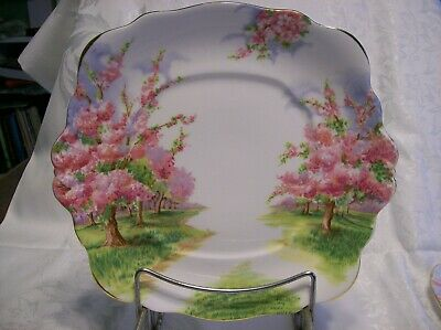 Royal Albert BLOSSOM TIME  Handled CAKE/ COOKIE PLATE