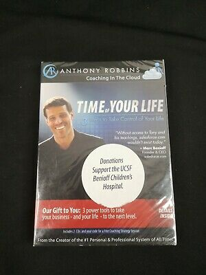 Anthony Robbins The Time of Your Life Coaching in the Cloud 2 CD & Coaching Code