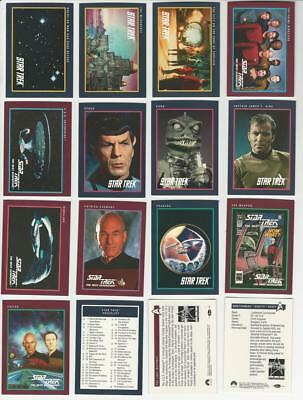 Star Trek 25th Anniversary Series 1 - Complete 160 Trading Card SET - 1991 - NM
