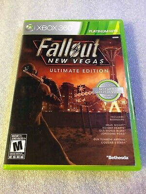 Fallout: New Vegas -- Ultimate Edition (Microsoft Xbox 360, 2012) Complete!