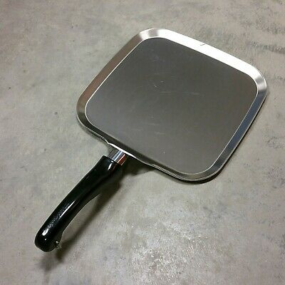"NEVER USED - Saladmaster ""System 7"" Griddle TP304-316 Surgical Stainless Steel"