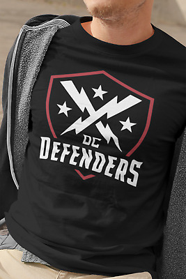 DC Defenders v2 XFL 2020 Short Sleeve T-Shirt - Free decal with purchase of 2+