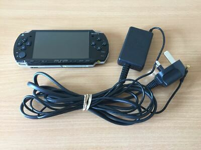 Sony PlayStation PSP 2003 *VGC* Black Slim & Official Charger #12