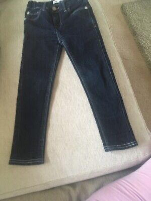 Lev Super Skinny Jeans Age 3-4 Yrs With Sequi Butterfly Pockets Bought From Amer