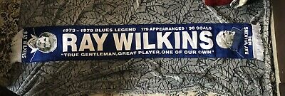 Ray Wilkins Chelsea Legend Scarf