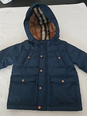 Burberry Boys Jacket Fantastic Condition Age 9 Months