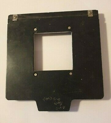 LPL Glassless Negative Carrier 6 x 6cm modified to give artistic edges