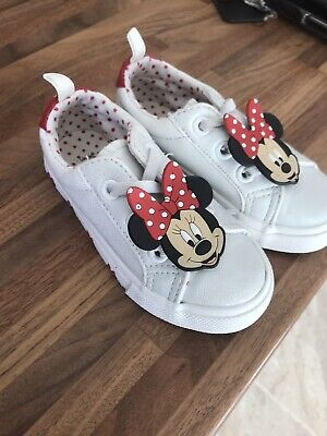 Minnie Mouse Girls Shoes Size 6 Primark Disney