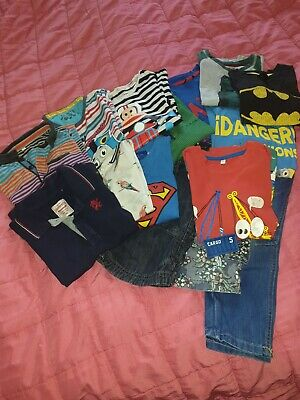 Boys Bundle Age 5-6 Tops Shorts Jeans M&S Next Mothercare Debenhams