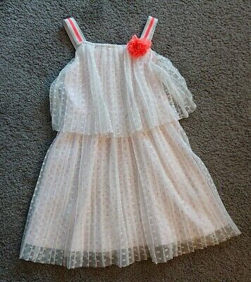 Girls Stunning Dress From Monsoon Age 5-6 Worn Once