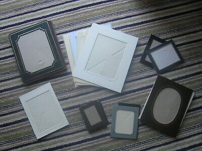 31 Photograph Mounts various sizes mixed new and used