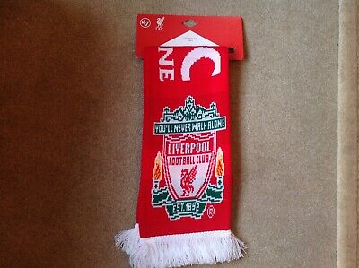 Liverpool FC Scarf red football new with tags