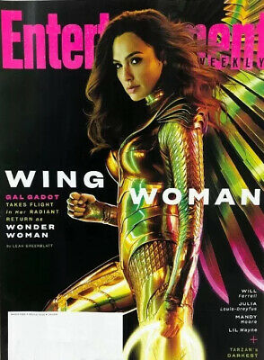 Entertainment Weekly Magazine March 2020 Gal Gadot Wonder Woman Will Ferrell