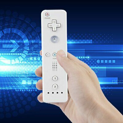 Brand New White Remote Controller Fit For Nintendo Wii & Wii U &Strap.