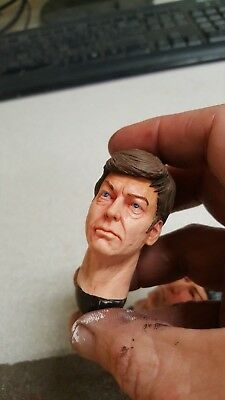"Custom painted star trek Mr spock head for 12/"" Action Figure doll Toys soldier m"