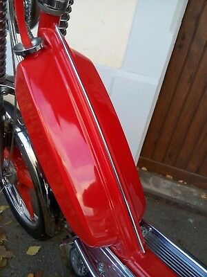 Baguette adaptable chrome cadre reservoir mobylette peugeot 103 sp mvl spx vogue