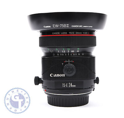 Canon TS-E 24mm f/3.5L Tilt-Shift Lens - UK MODEL