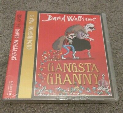 Brand New Gangsta Granny by David Walliams Talking Story Book CD Audio