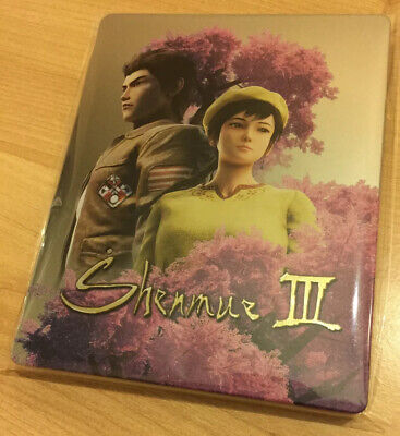 Shenmue III 3 Collector's Edition Steelbook PlayStation 4 PS4 Pro NEW No Game