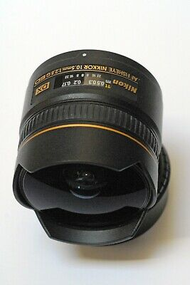 Nikon Nikkor AF 10.5mm f2.8 G ED DX Fisheye Lens in Excellent Condition