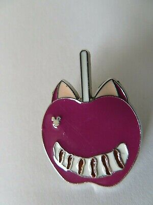 DISNEY trading pin CHESHIRE CAT CANDY APPLE Alice in Wonderland Hidden Mickey