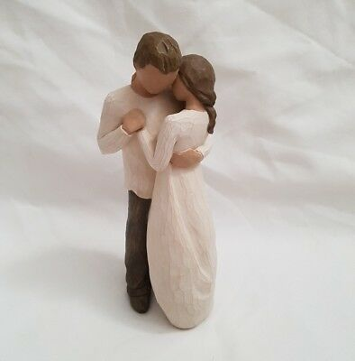 """REDUCED ❀ڿڰۣ❀ WILLOW TREE """"PROMISE"""" Figurine By SUSAN LORDI - Dated 2003 ❀ LOT 2"""
