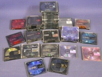 46 Mini Disc MD / Konvolut Lot Sony Maxxel TDK Fuji BASF