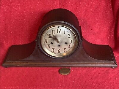 Antique Ex Large SETH THOMAS 8 Day WESTMINSTER CHIME Mantel Clock Project No Res