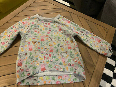 Peppa Pig Girls Jumper And Bottoms/ Tracksuit Age 1.5 - 2 Years Old