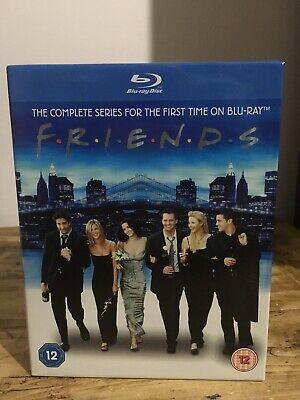 Blu-Ray - Friends The Complete Series Box Set - Uk Region Free - Mint Condition