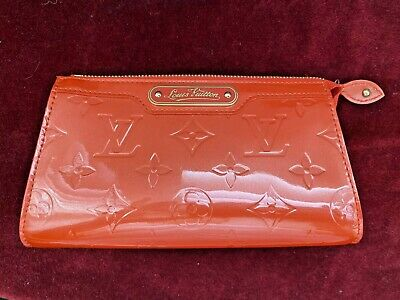 Auth. LOUIS VUITTON Vernis Trousse Cosmetic Pouch NEW