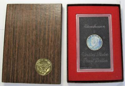 1972 U.S. Silver Eisenhower Dollar * Proof * In Box and Sealed In Holder