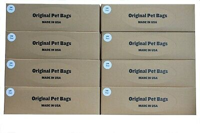 2000 Litter Bags, Dog Waste Roll Bags Refill for HOA Pet Stations Made in USA