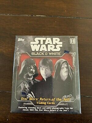 2020 Topps Star Wars  Black And White- Return Of The Jedi  Hobby Box !!