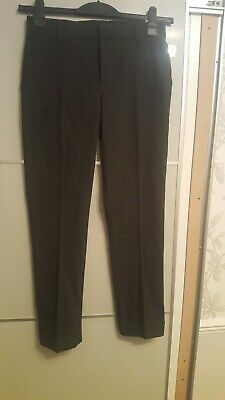 Boys Charcoal Grey Bnwt Marks & Spencer Skinny Leg School Trousers 12-13 years
