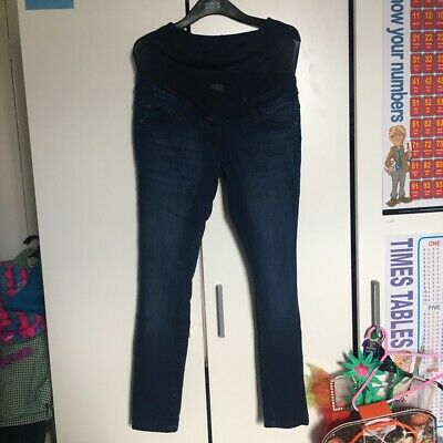 Next Maternity Over Bump Skinny Jeans Size 10R