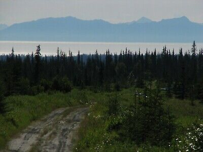 $199 Down - $259/Mo For 9+ Acres Magnificent Mountain & Bay Views By Homer-Terms