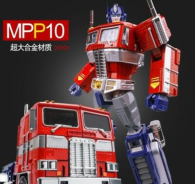 New MPP10W magnification alloy version of white optimus prime OP box