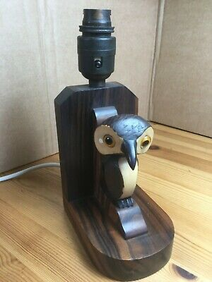 Antique Art Deco YZ Nut Bird Lamp Base Henry Howell Dunhill
