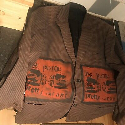 Sex Pistols  Pretty Vacant Xl Jacket Seditionaries