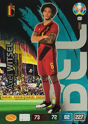 316-axel witsel-key player-Panini Adrenalyn Road to Euro em 2020