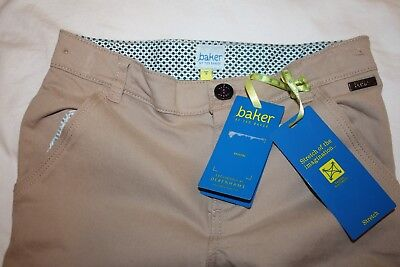 Bnwt's Boys 100% Ted Baker Boys Smart Chino Trousers / Pants Sized  8 Years