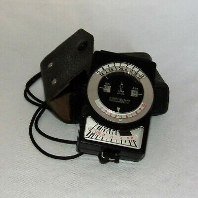 Leningard 7 lightmeter with case and name in Russian