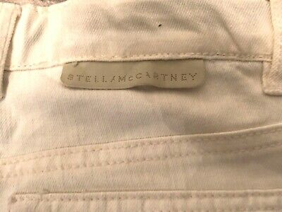 Stella McCartney boys/Girls Pale cream Jeans. 8-10yrs. Perfect condition.